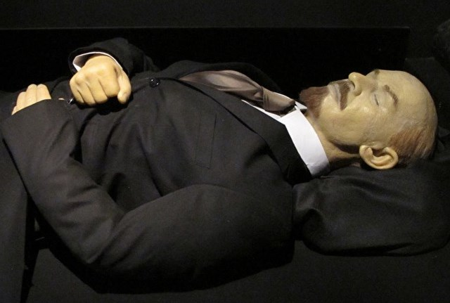 Захоронение Ленина